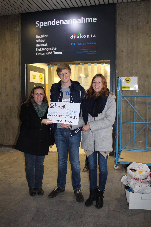 Schulen Sammeln Und Spenden Für Flüchtlinge Flüchtlingshilfe München